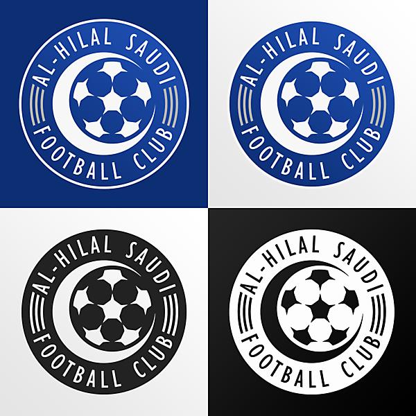 Al-Hilal Saudi FC | Crest Redesign (v2)