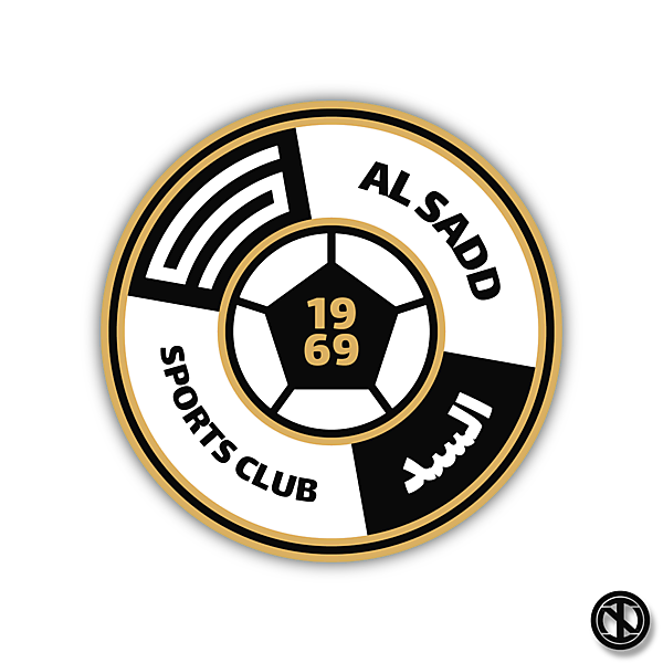 Al-Sadd SC   Crest Redesign Concept