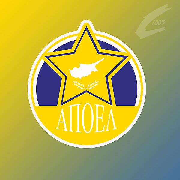 Apoel Nicosia crest rebrand