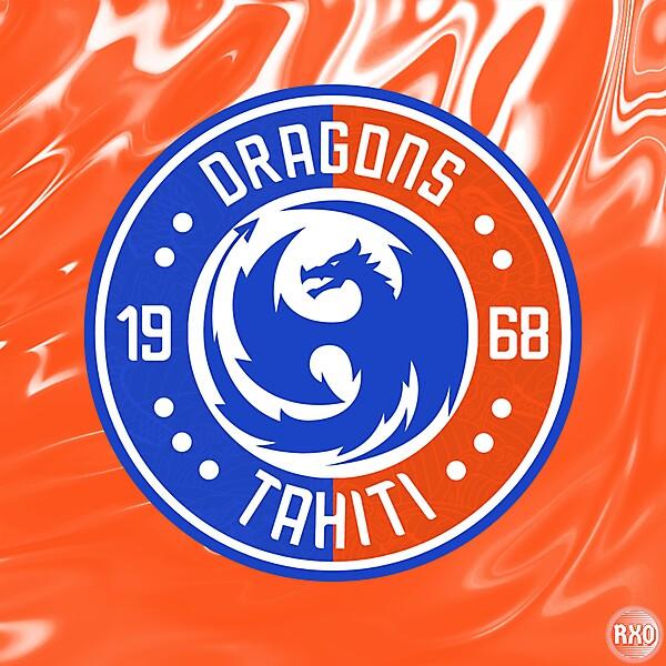 As Dragons Tahiti Crest Redesign