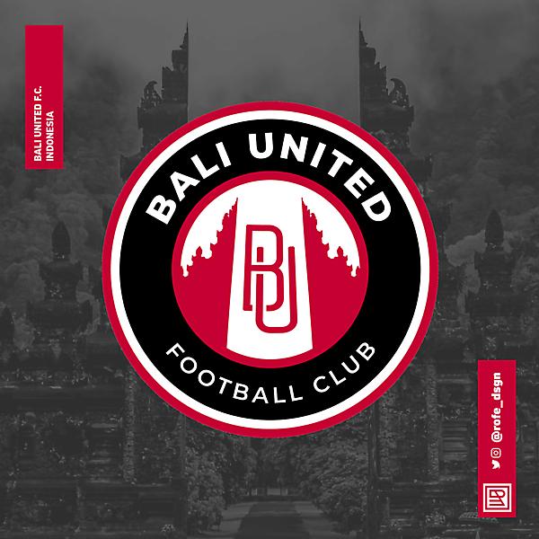 Bali United Football Club Rebranding By @rofe_dsgn