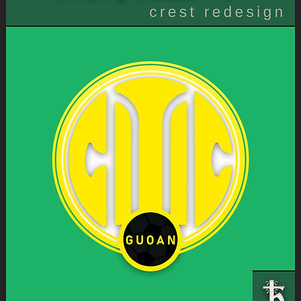 Beijing Guoan - Redesign