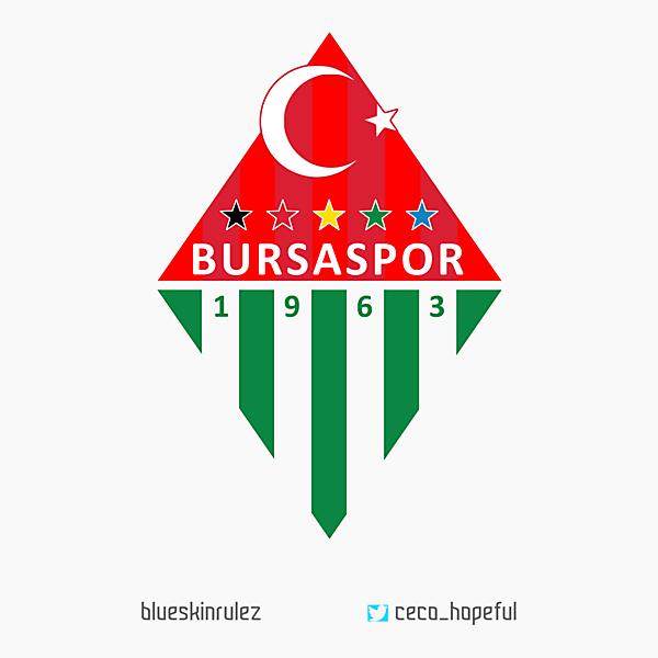 Bursaspor Crest redesign