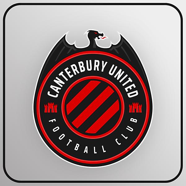 Canterbury United FC | Crest Redesign