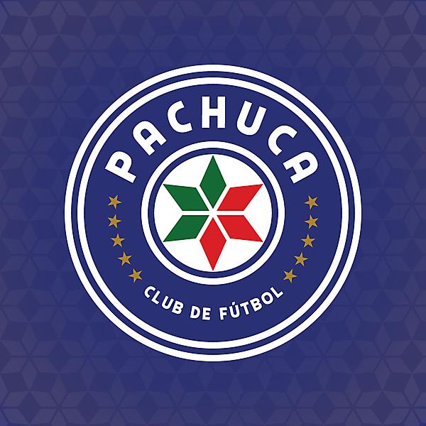 CF Pachuca Crest Redesign