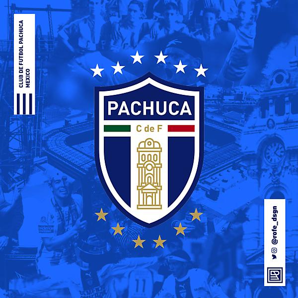 Club de Fútbol Pachuca | Rebranding By @rofe_dsgn
