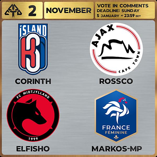 CROTM 2 VOTING - NOVEMBER