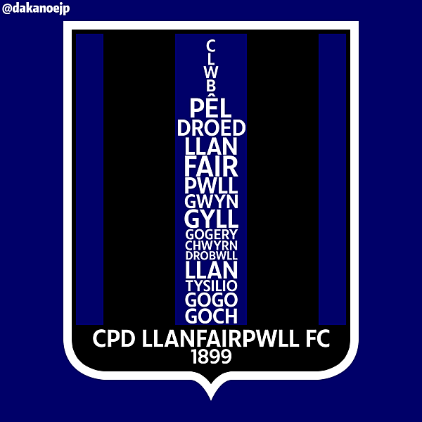 CPD Llanfairpwll FC Crest