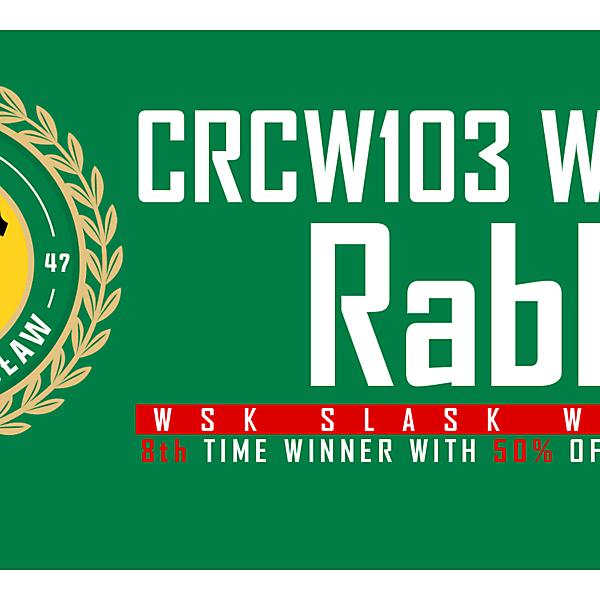 CRCW103 - WINNER