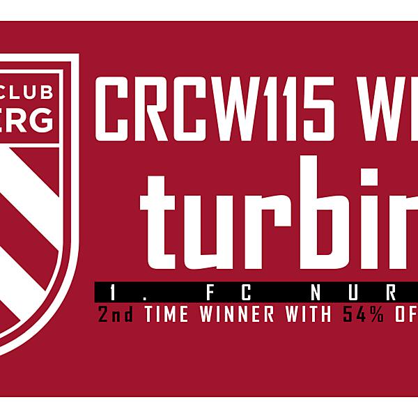 CRCW115 - WINNER