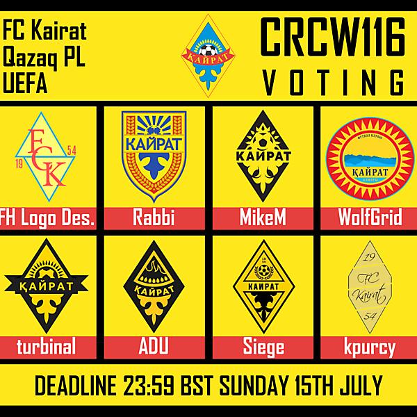 CRCW116 - VOTING