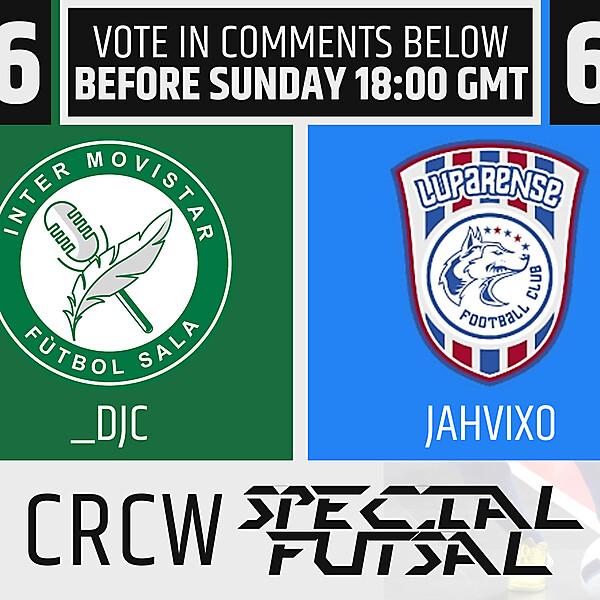 CRCW - Special Futsal Event