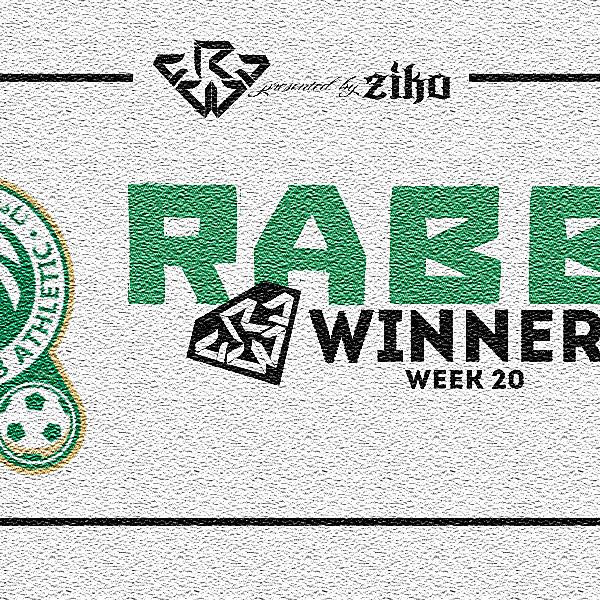 CRCW - WEEK 20 - WINNER
