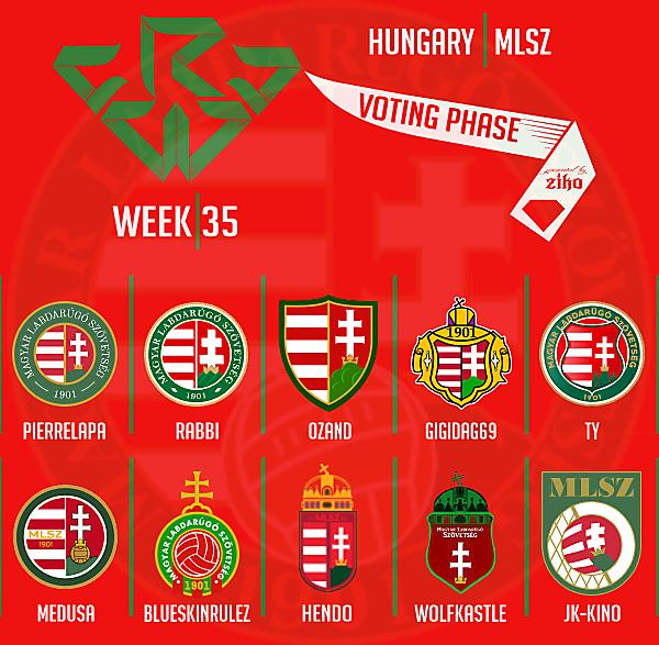 CRCW - WEEK 35 - VOTING