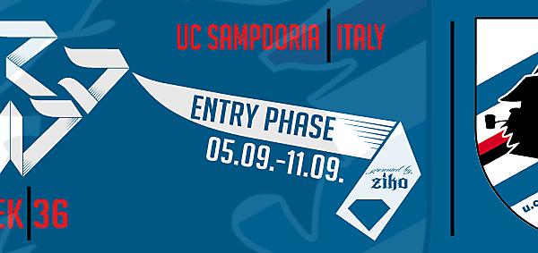 CRCW - WEEK 36: UC Sampdoria