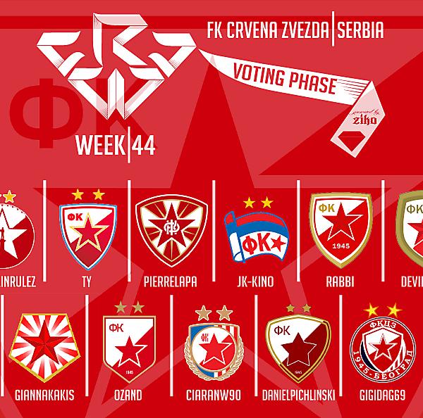 CRCW - WEEK 44 - VOTING