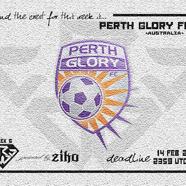 CRCW - WEEK 6: Perth Glory FC