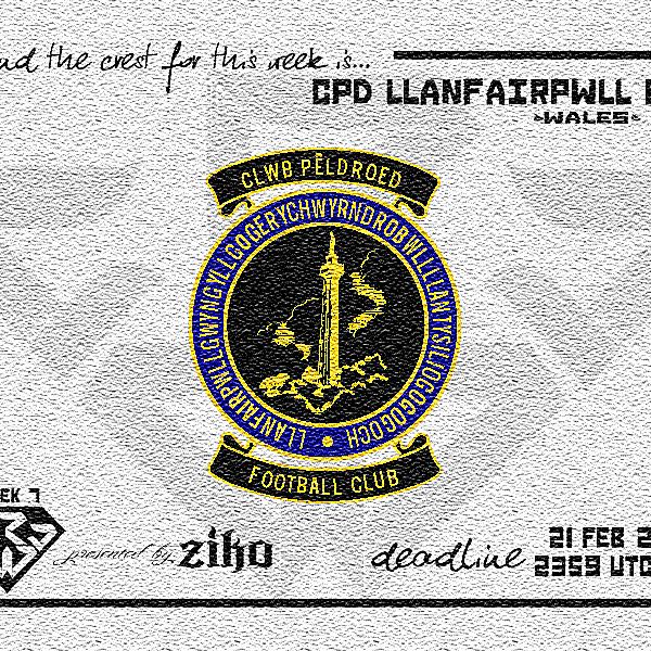 CRCW - WEEK 7: CPD Llanfairpwll FC