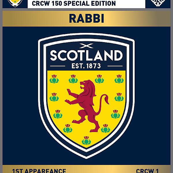 CRCW 150 SE | SCOTTISH F.A. | RABBI