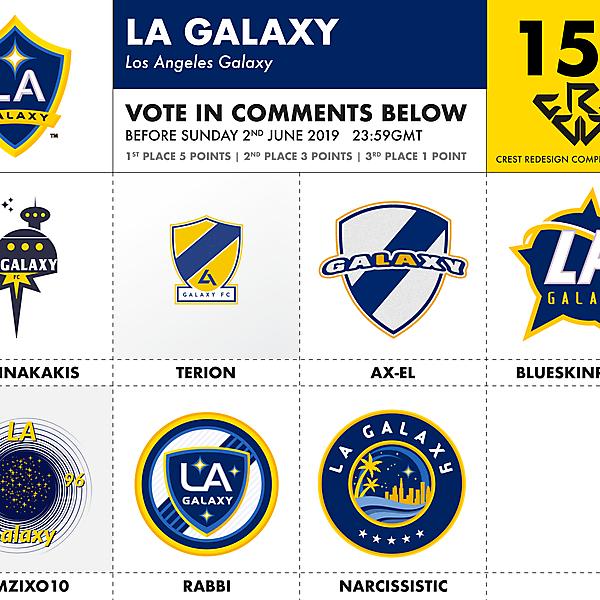 CRCW 155 LA GALAXY VOTING
