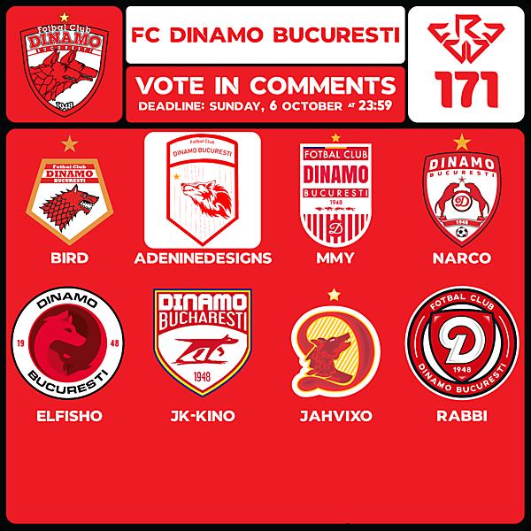 CRCW 171 VOTING - FC DINAMO BUCURESTI