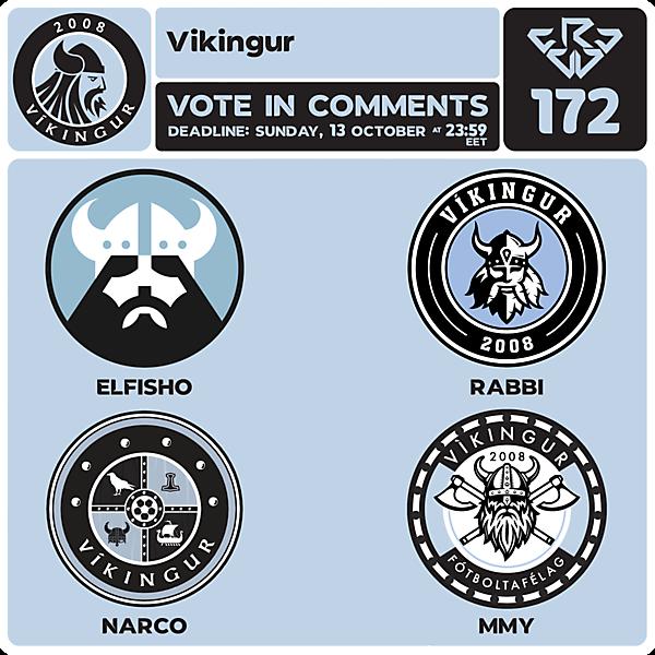 CRCW 172 VOTING - VÍKINGUR