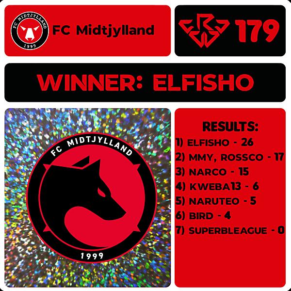 CRCW 179 RESULTS - FC MIDTJYLLAND