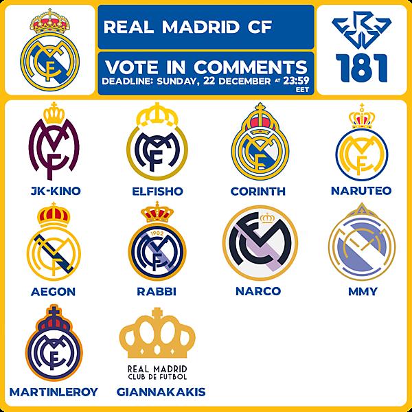 CRCW 181 VOTING - REAL MADRID CF