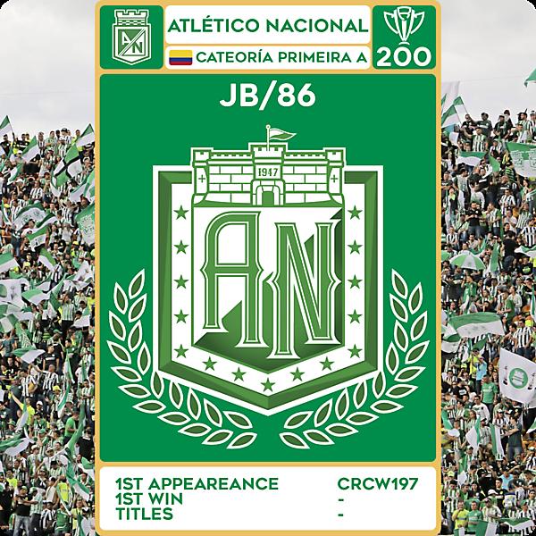 CRCW 200 - SPECIAL EDITION - ATLÉTICO NACIONAL - JB/86