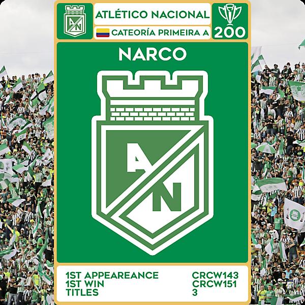 CRCW 200 - SPECIAL EDITION - ATLÉTICO NACIONAL - NARCO