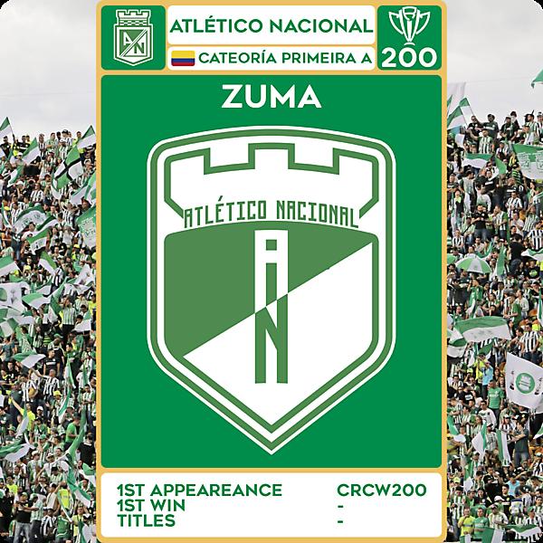 CRCW 200 - SPECIAL EDITION - ATLÉTICO NACIONAL - ZUMA
