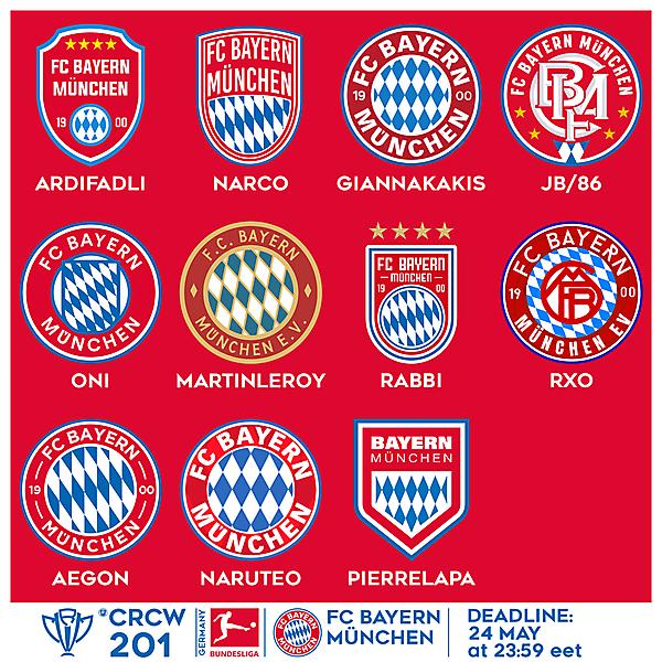 CRCW 201 VOTING - FC BAYERN MÜNCHEN