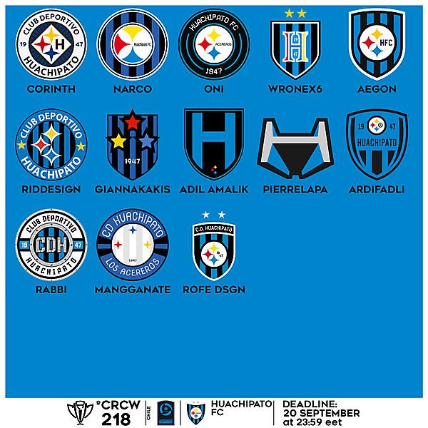 CRCW 218 VOTING - HUACHIPATO FC