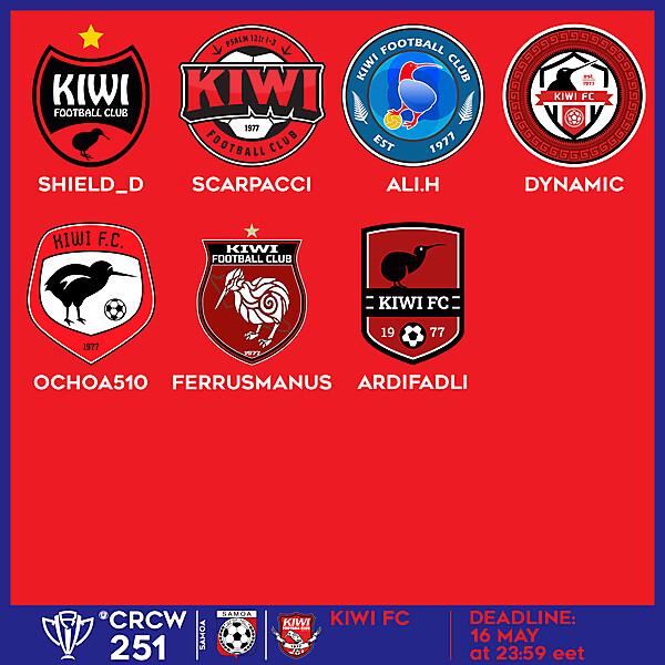 CRCW 251 - VOTING - KIWI FC