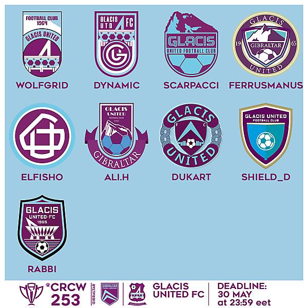 CRCW 253 - VOTING - GLACIS UNITED FC