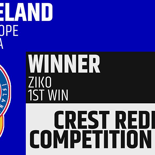 CRCW 49 Winner - Ziko