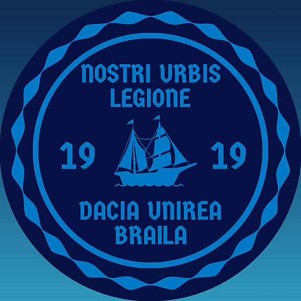 Dacia unirea braila logo redesign