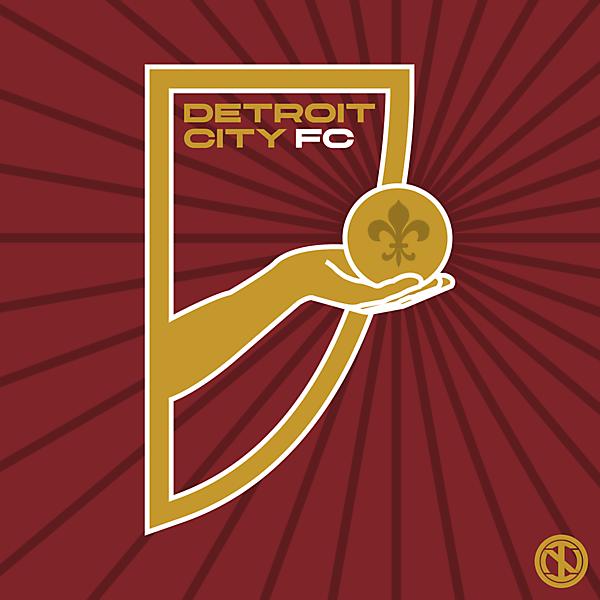 Detroit City FC | Crest Redesign Concept