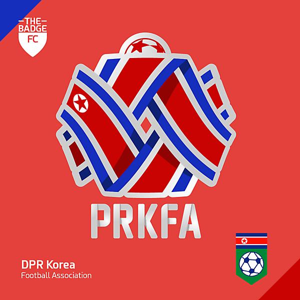 DPR Korea Footbaal Association Badge Redesign Concept by @thebadgefc - CRCW 214