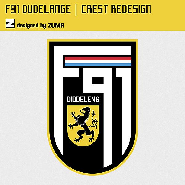 F91 Dudelange | Crest Redesign