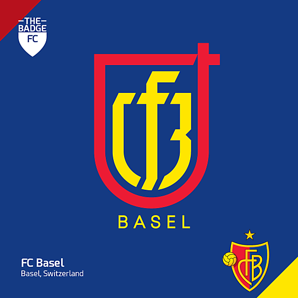 FC Basel Badge Redesign Concept by @thebadgefc - CRCW 220