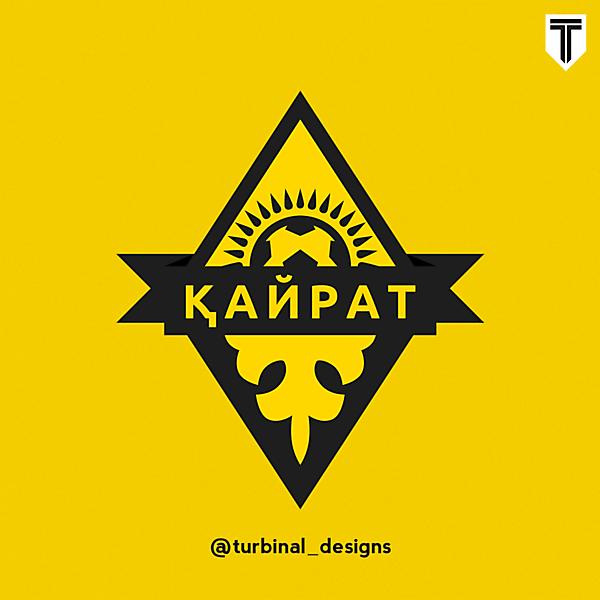 FC Kairat Crest Redesign