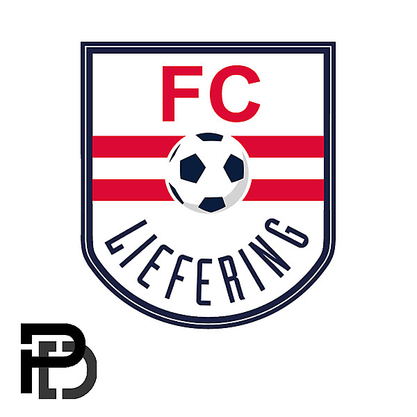 FC Liefering Crest Redesign by perezdesign_