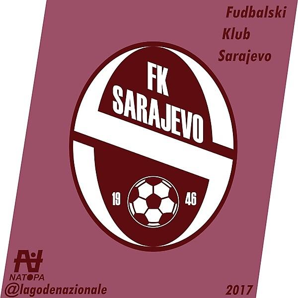 FK Sarajevo Crest Redesign