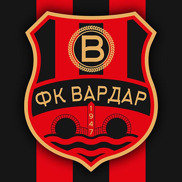 FK Vardar Crest Redesign