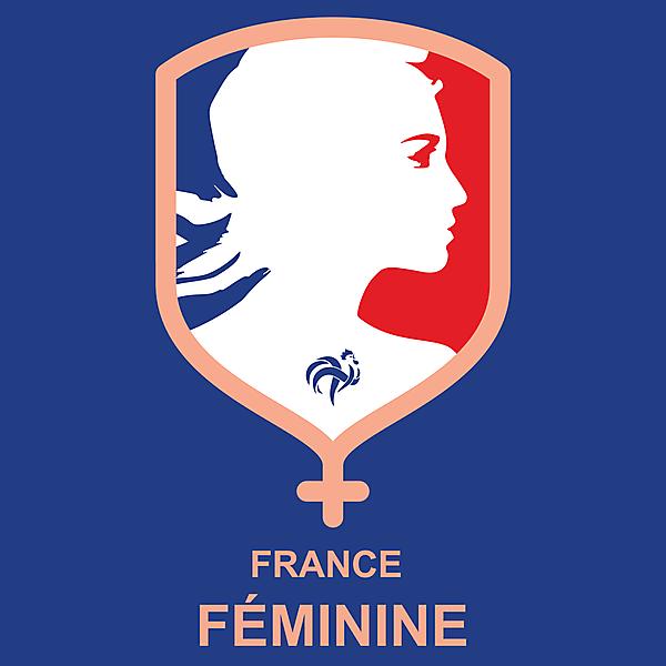 France Féminine by @kunkuntoto