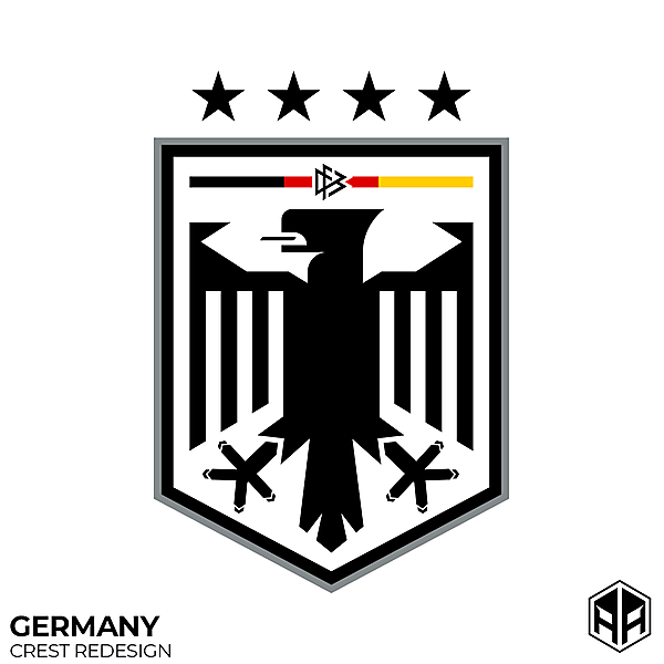 Germany NT crest redesign