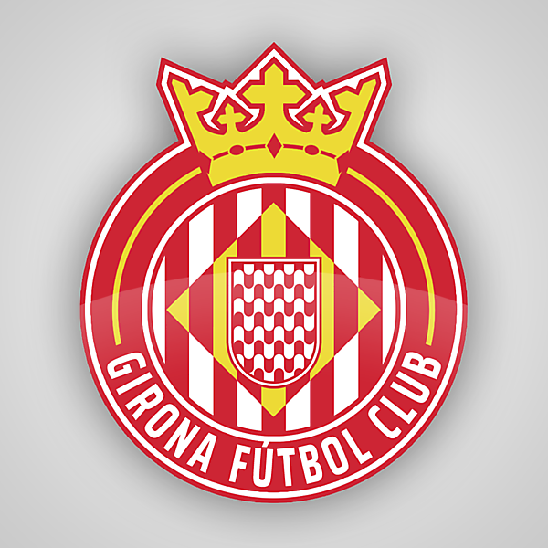 Girona FC   Crest Redesign