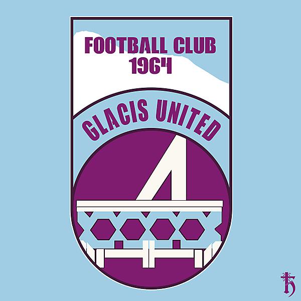 Glacis United - crest redesign
