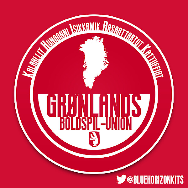Greenland National Football Team Crest